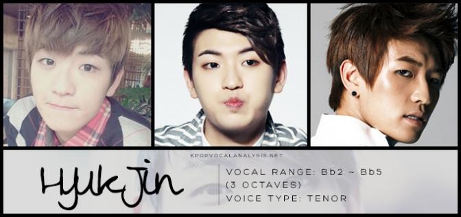 100%'s Vocal Analysis: Hyukjin | K-pop Vocalists' Vocal Analyses