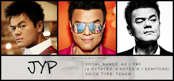 JYP's Vocal Analysis | K-pop Vocalists' Vocal Analyses