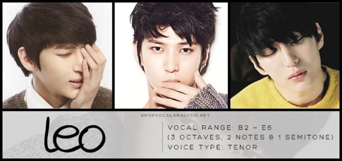 VIXX's Vocal Analysis: Leo | K-pop Vocalists' Vocal Analyses