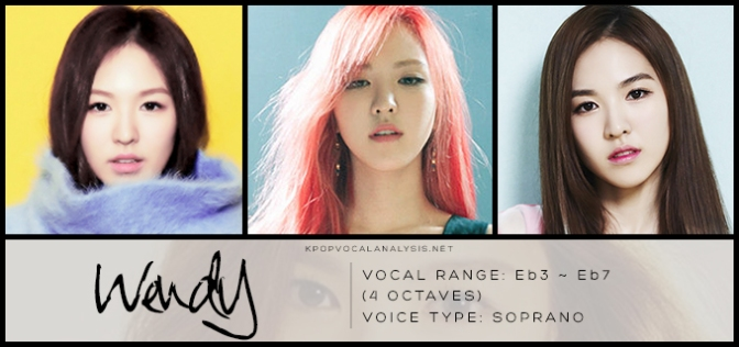 red velvet u2019s vocal analysis  wendy